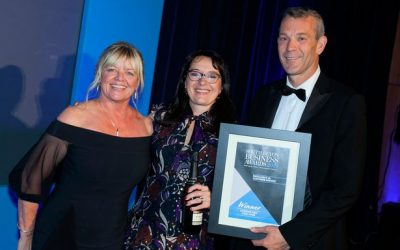 Harbour Rise wins Excellence in Customer Service at South Devon Business Awards 2019