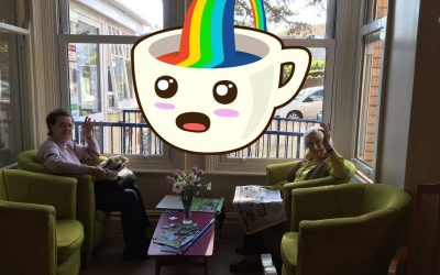 Special Treat from KFC and we've joined in with The Rainbow Trail Fun