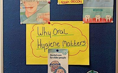 Oral Health Champion Board