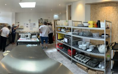 Our new Temporary Kitchen